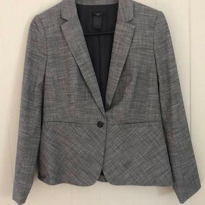 Ann Taylor Factory Suit Coat grey